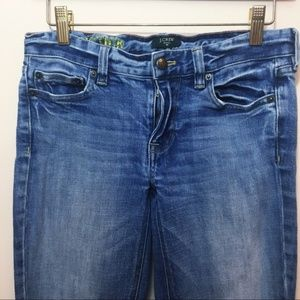 J. Crew Factory Matchstick Straight Jeans in 26s